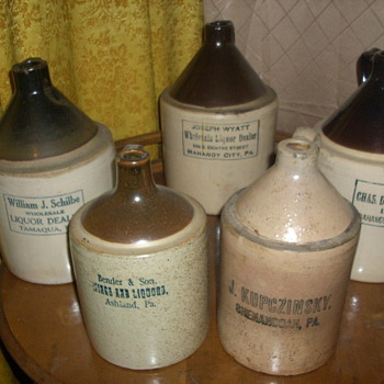 "PA. ""Coal Region"" Jugs - China and Dinnerware"