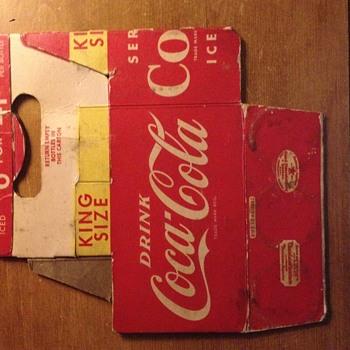 Coke-Cola Carton - Coca-Cola