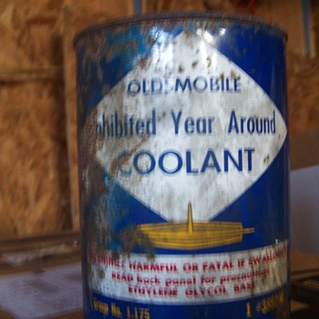 OldsMobile Coolant Can