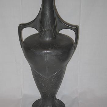 Orivit Pewter Art Nouveau Vase, Germany, c. 1905 - Art Nouveau