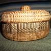 Alaskan Haida Knob Top Basket