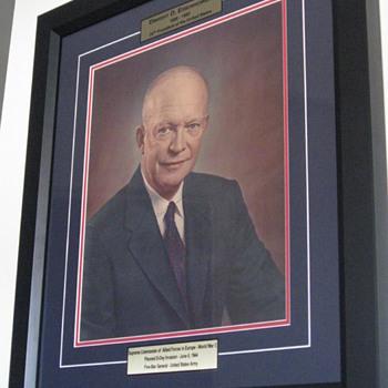Dwight D. Eisenhower . . . Signed Portrait - Photographs