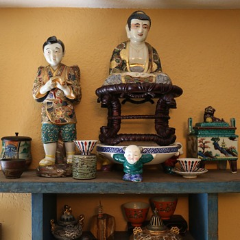 Satsuma Buddha finds a new seat!