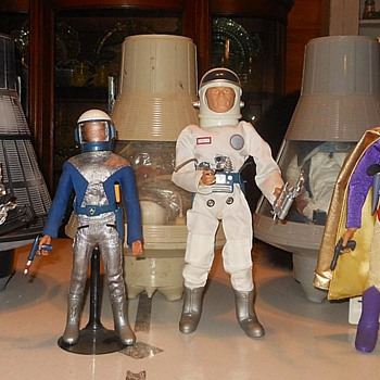 Special Space Edition Action Figure Action Featuring GI Joe Captain Action and Action Boy - Toys