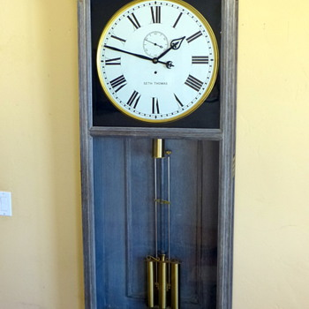 GIANT Seth Thomas regulator #31 - Clocks