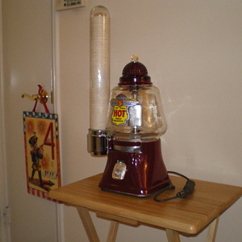 Silver King Hot Nut Machine - Coin Operated