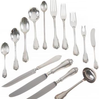 Buccellati Borgia Service for 24 - Silver