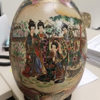 My Satsuma Egg - Pottery