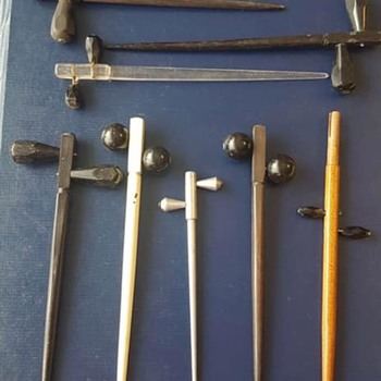 Does anyone know what these are?   - Musical Instruments