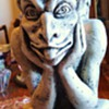 """Spitting Gargoyle"" of Notre Dame  Gargoyles keep evil away!"
