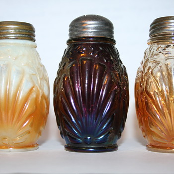 Old Carnival Glass Shakers Revisited - Glassware