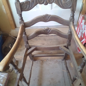 can anyone help me date this chair?