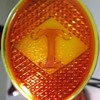 Diamond T taillight lens