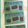 Paper Coupons - BLUE RIBBON ( Coffee // Tea // Baking Powder, etc )