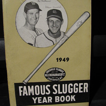 1949 Famous Slugger Year Book