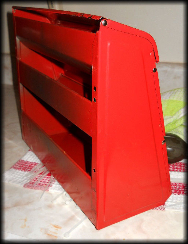 Vintage Metal kitchen wrap dispenser -- For Foil // Wax ...