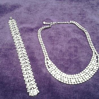 Art Deco set - Costume Jewelry