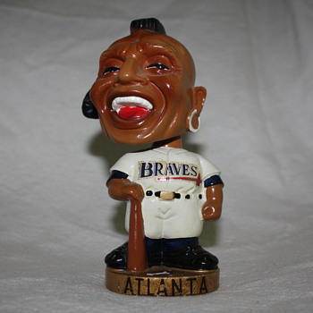 Atlanta Braves bobblehead. - Baseball