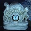 Old Porcelain Clock dated 1877