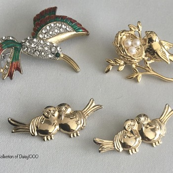 Suddenly Spring-Into-Summer — Some Birds  - Costume Jewelry
