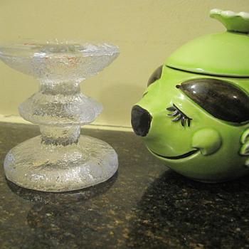 Iittalia and a pig - Art Glass