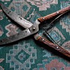 Antique Henckels game shears with stag handles