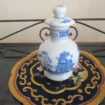 Mini Blue White Chinese Vase Jar Pot ?????? - Asian