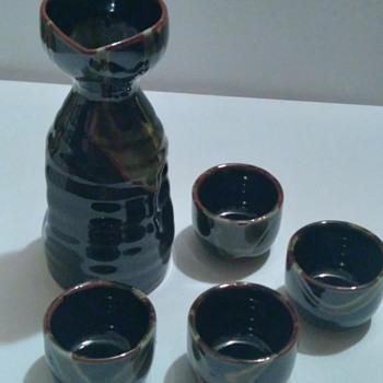 Vintage Japanese Sake Set? - Asian