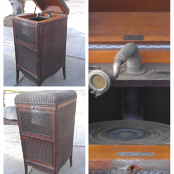 1917 heywood wakefield perfectone phonograph