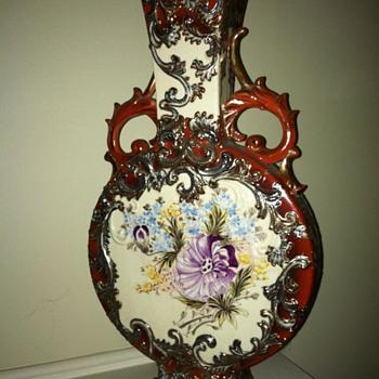 Moon Flask Vase - Pottery