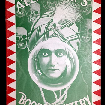 "Original 1919 ""Alexander's Book of Mystery"" Pitch Book - Books"