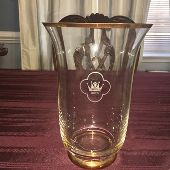 Swedish Royal commemorative wedding vase