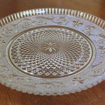 Hasegawa Glass platter - Glassware