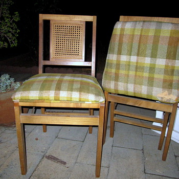 Stakmore Caneback Wooden Chairs - Furniture