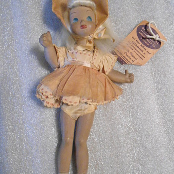 1941 Victory Thumbs Up Doll WWII - Dolls
