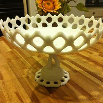 Westmoreland Doric Milk Glass ? - Glassware