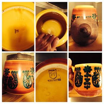 Deb's German pottery - Pottery