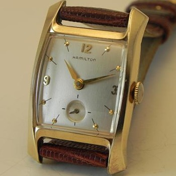 1955-57 Hamilton Baxter - Wristwatches