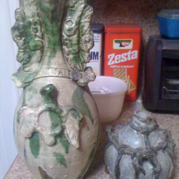 Pottery saved from the trash.... - Pottery
