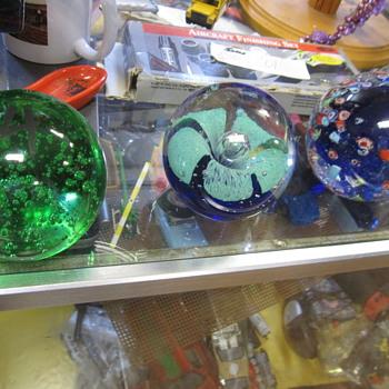 Millefiori Paperweight - Art Glass