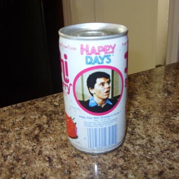 happy days nehi soda can - Advertising