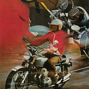 "1969 - ""Honda 750-Four"" Sales Brochure"
