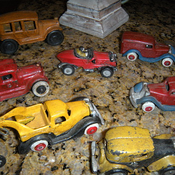 many toy cars - Model Cars