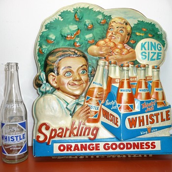 Whistle Soda Bottles - Bottles