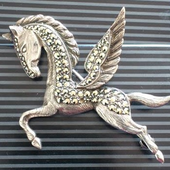 I Found this Bernard Instone Pegasus brooch in a second hand shop