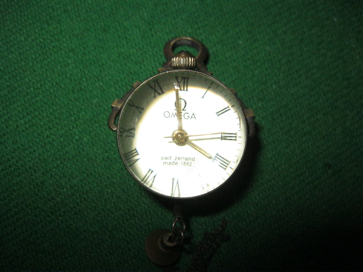 Omega glass ball watch 1882 | Collectors Weekly