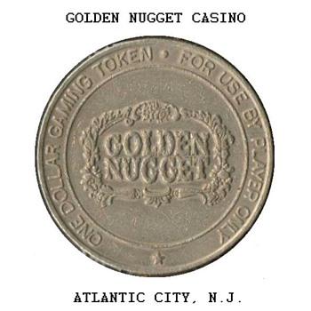 Golden Nugget Casino - $1 Gaming Token - Games