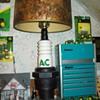AC Spark plug lamp