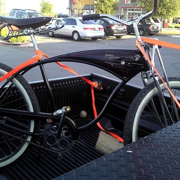 Harley Davidson Schwinn tank bike cruiser - Sporting Goods