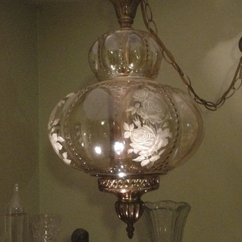 Beautiful Lamp from 1940's